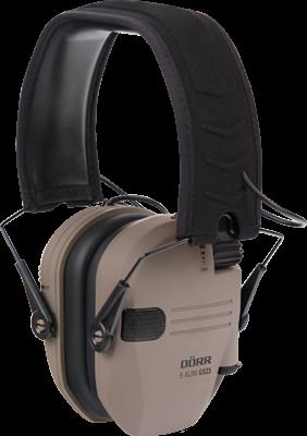 DÖRR Elektronischer Gehörschutz E-Slim GS-23 dark earth