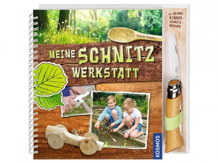 Buch Meine Schnitzwerkstatt, mit Opinel-Kindermesser, Nr. 7