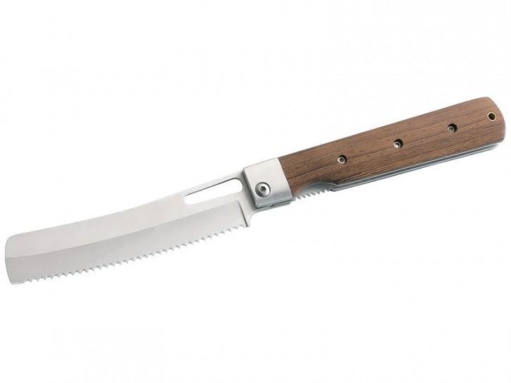 Herbertz Camping-Brotmesser, Stahl 440 A, Tagayasan-Holz