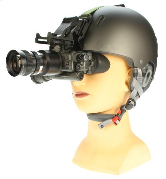 Helmhalterung mit Helm für Goggles 2X