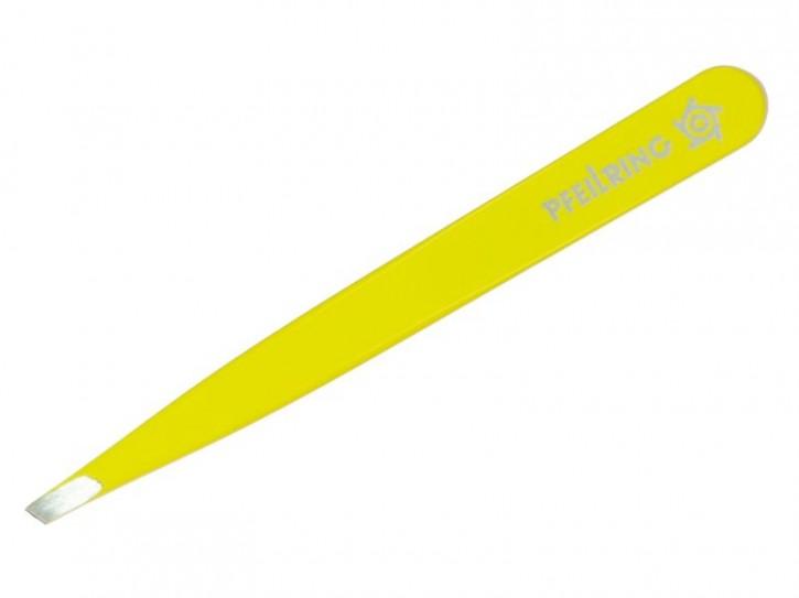 Pfeilring Trendy-Pinzette, farbig, schräg, in Blister