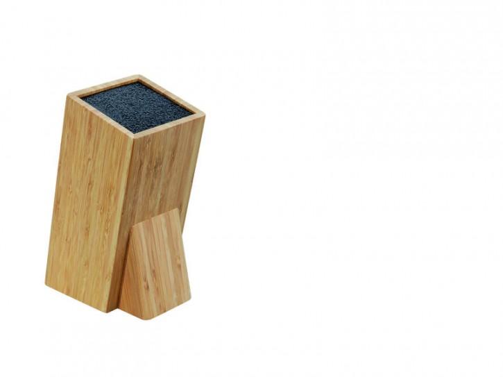 Taylor's Eye Witness, Universal Holz-Messerblock, natur, herausnehmbarer Borsten-Einsatz aus Kunststoff-Fasern