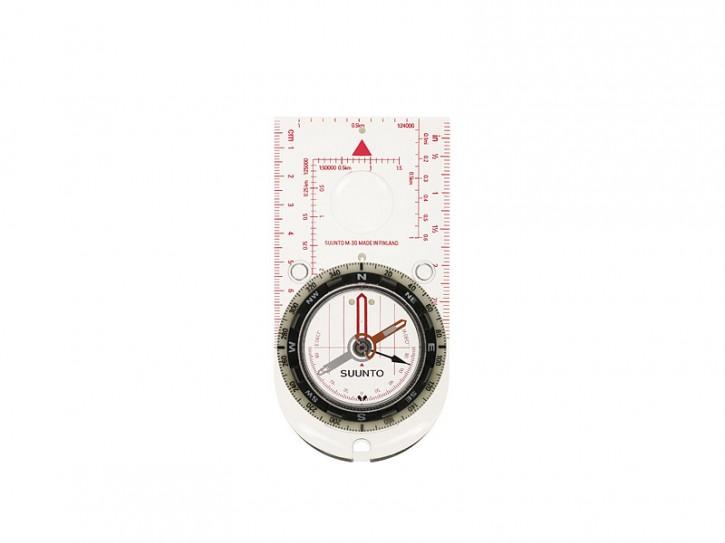 SUUNTO Linealkompass M-3 GLOBAL, 360-Grad-Einteilung, Gobal Balancing System, transparente Bodenplatte, Kordel