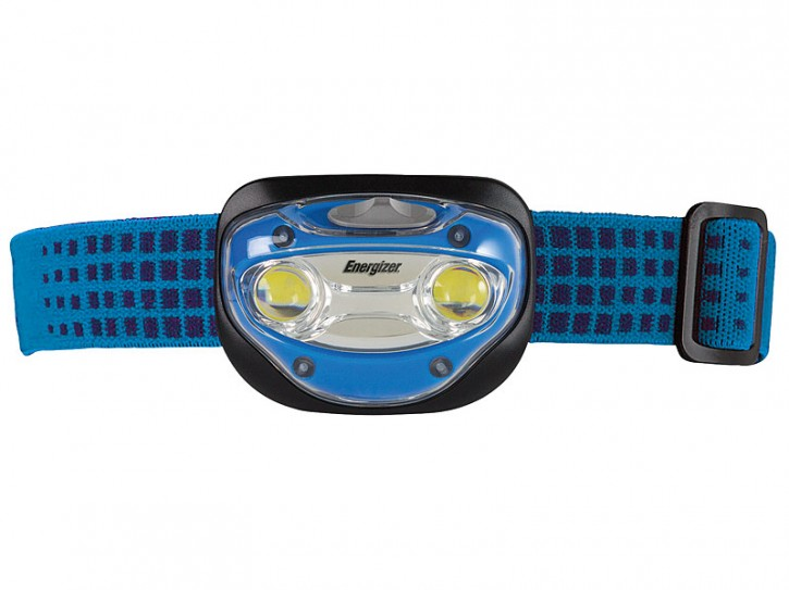 Energizer Kopflampe Advanced Headlight, mit 2 LEDs, inkl. 3 AAA-Batterien