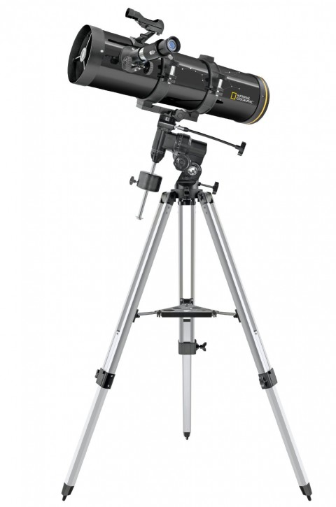 National Geographic Newton 130/650 Teleskop (130mm Objektivdurchmesser, 650mm Brennweite)