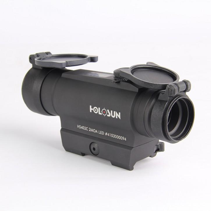 Holosun Rotpunktvisier HS402C mit Punktabsehen Zielfernrohr