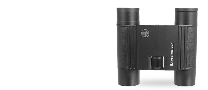 Hawke Sapphire ED 8x25 Compact Binoculars - Black