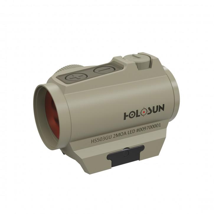 Holosun Rotpunktvisier mit wechselbarem Absehen HS503G-U-BLACK Zielfernrohr