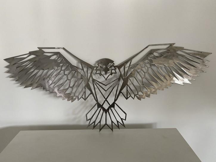 Deko Adler aus Metall für Haus und Garten die Deko