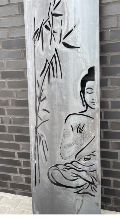 Sichtschutzwände Sichtschutz Blickschutz Buddha