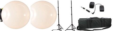 SemiPro 260Ws 2-er Kit D mit Diffusor Ball