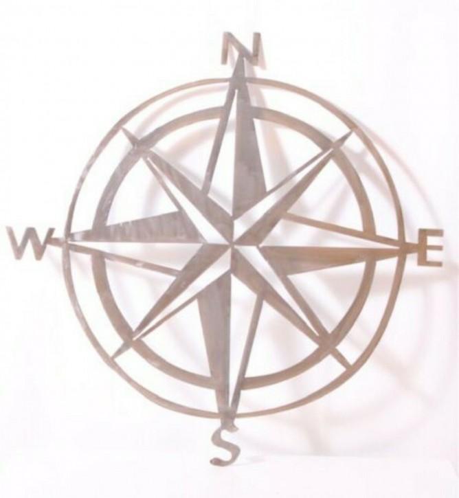 Kompass aus Feinblech 2mm