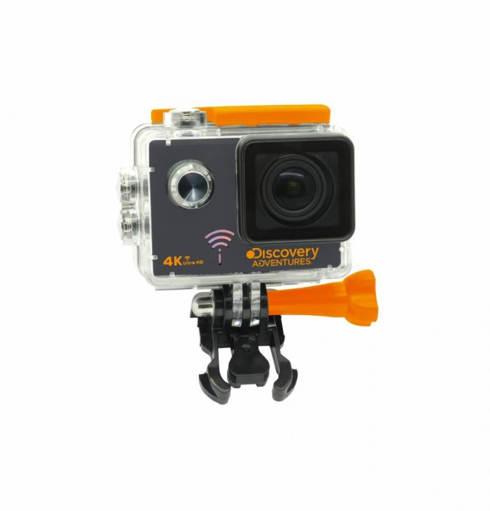 DISCOVERY ADVENTURES 4K ULTRA-HD WLAN ACTION CAMERA PRO