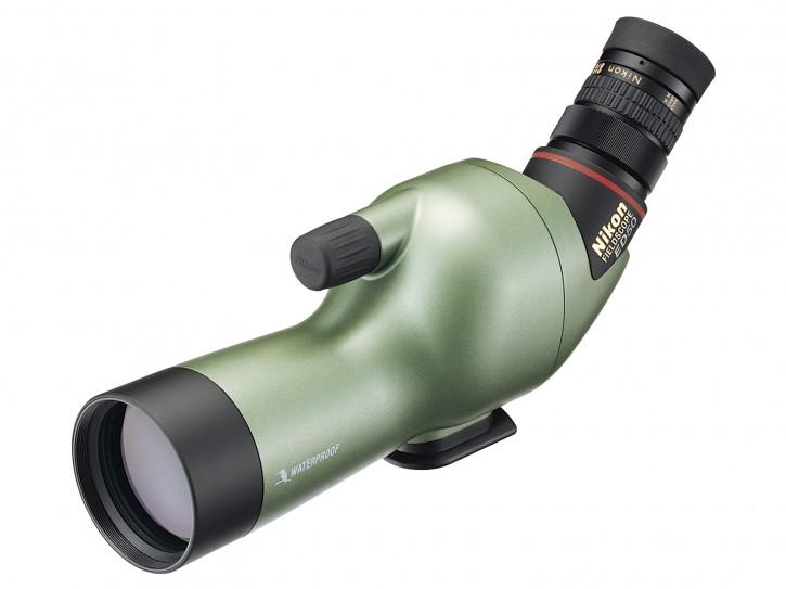 Beobachtungsfernrohr ED50 Angled Perlglanzgrün