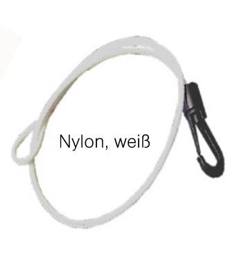Bogenschlinge Nylon weiß