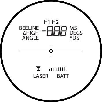 Hawke LRF Pro 400 Professional Range Finder