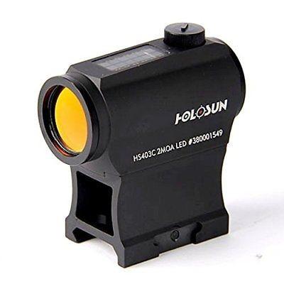 Holosun Rotpunktvisier HS403C mit Punktabsehen Zielfernrohr