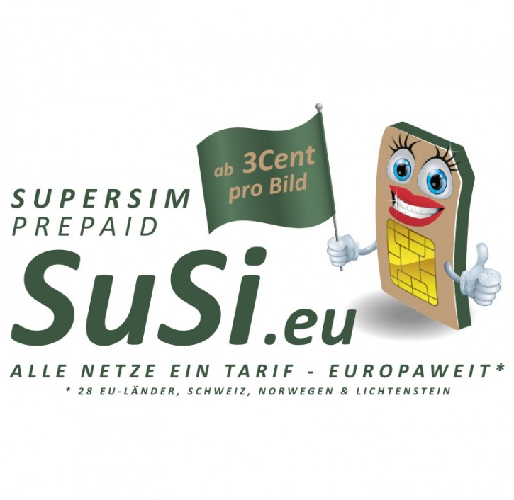 SuperSIM Prepaid Multinet Card für Wildkameras